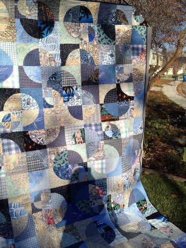 Laurel and Doug's Memory Quilt