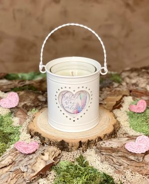 heart candles 2
