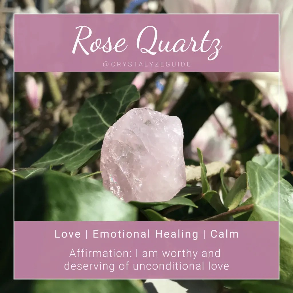 Rose Quartz Meaning Healing Properties Chakras Crystalyze