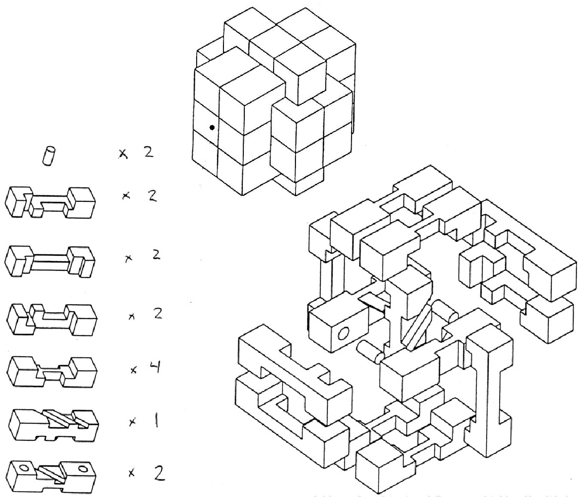 15 Piece Wooden Puzzle Solution | Wiring Diagram Database