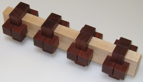 6 Piece Wooden Interlocking Puzzle Solution - Year of Clean
