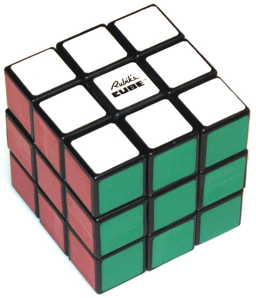 hight resolution of  rubik s 3x3x3 cube copyright j a storer