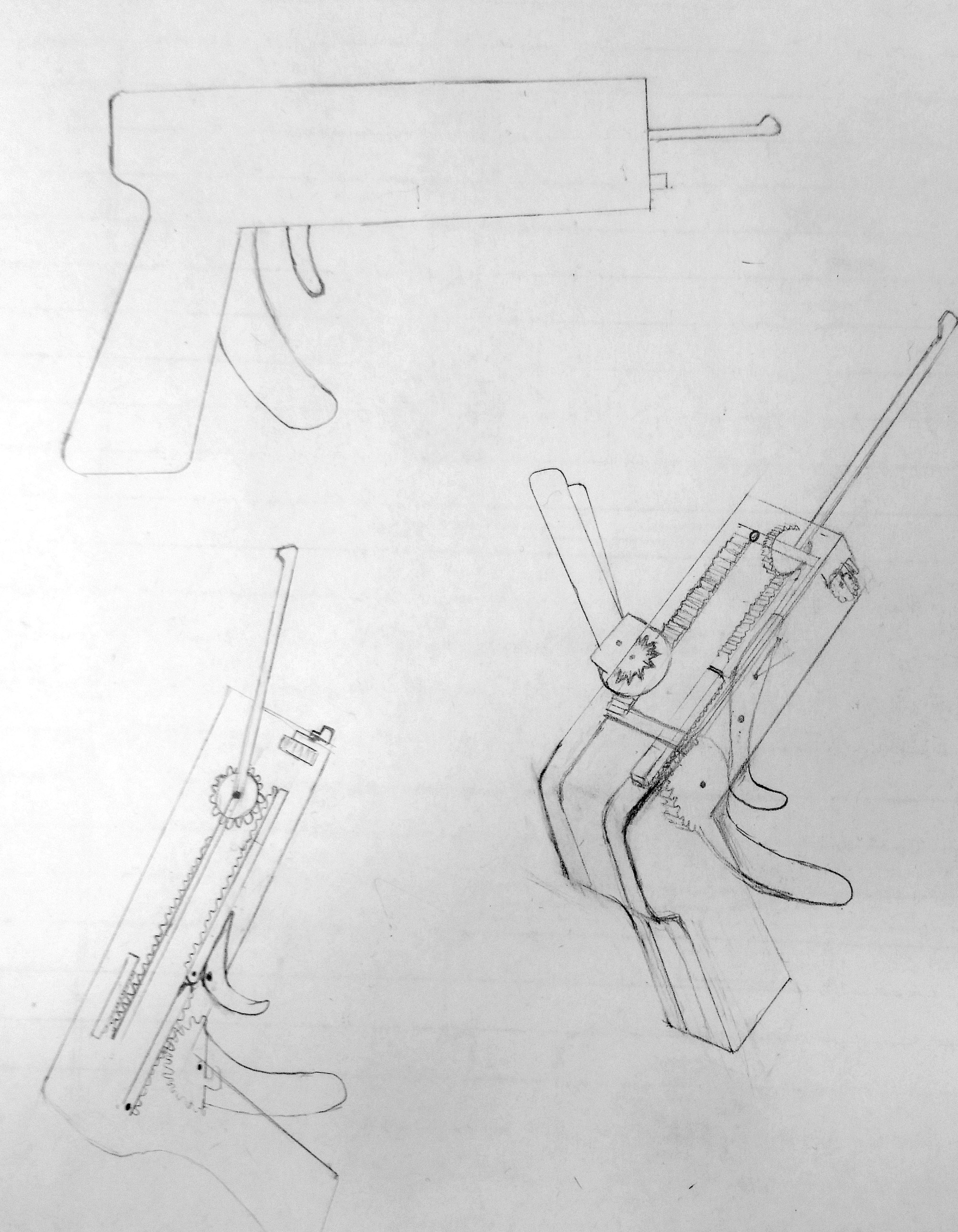 hight resolution of this project created a lock picking mechanism that can easily depress pins on a lock without needing much prior knowledge