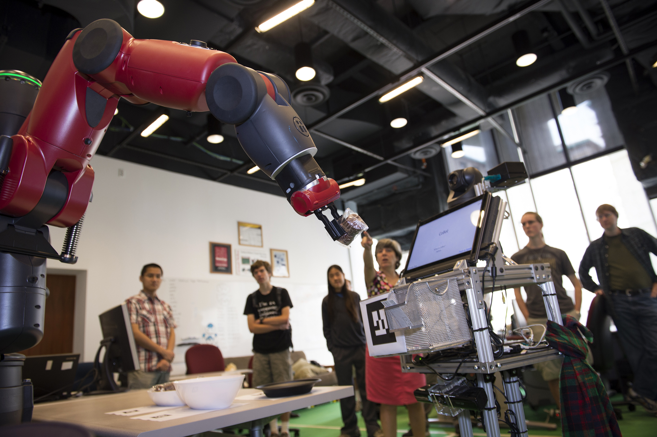Veloso Lab Welcomes Baxter Robot to Campus  Carnegie