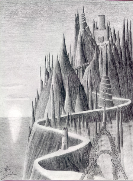 Ink Drawings Landscapes