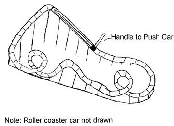 Tabletop Roller Coaster