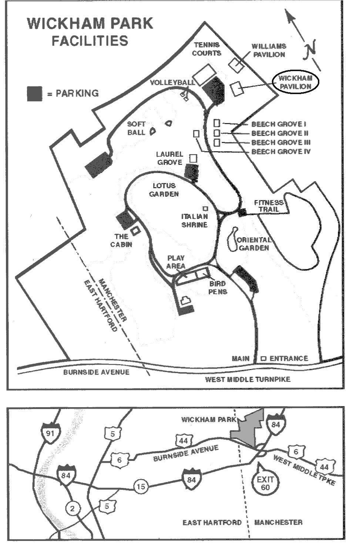 Directions to Wickham Park