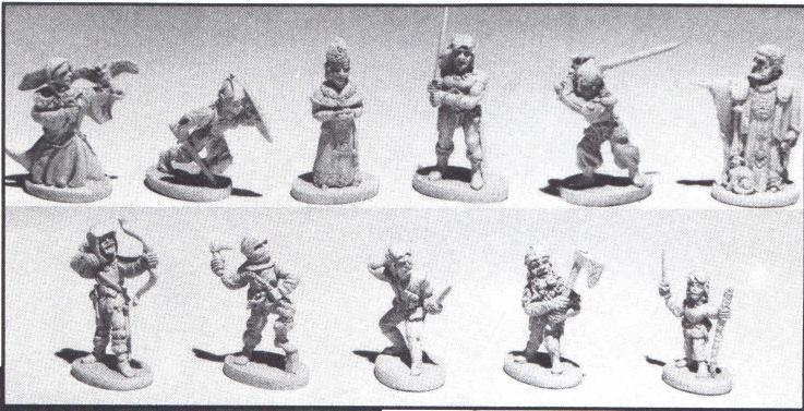 Grenadier Models Fantasy Lords  Boxed Sets
