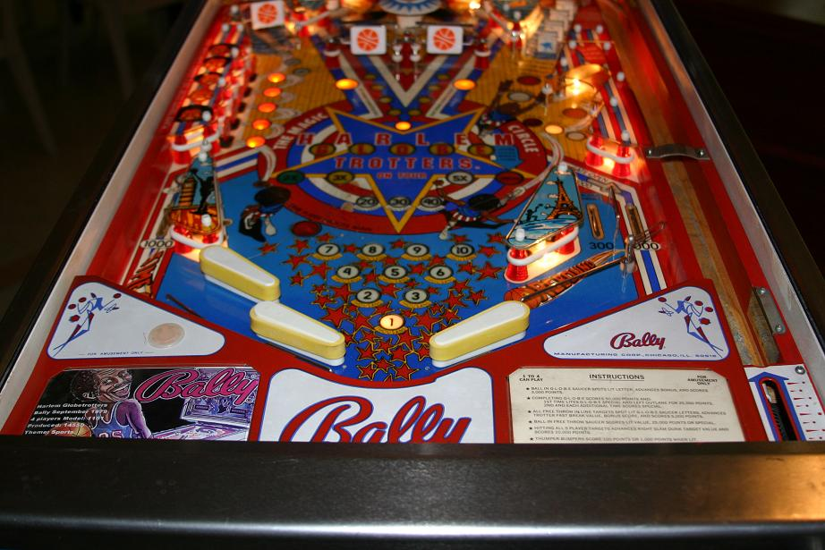1979 Bally Harlem Globetrotters Pinball Machine