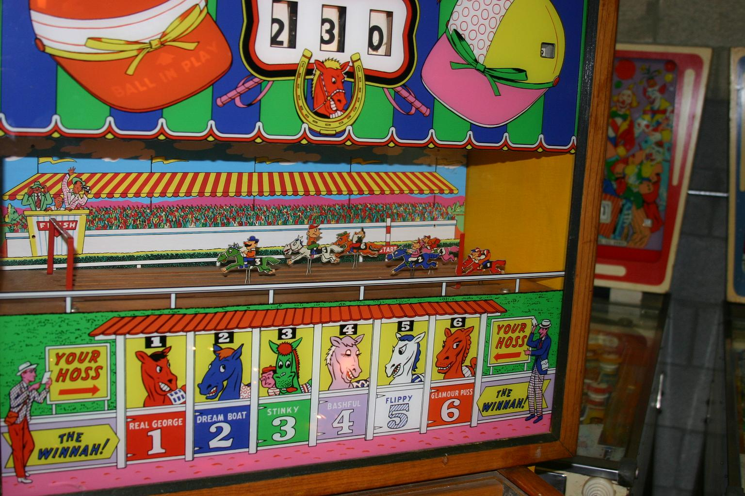 Williams Nags Horse Racing Pinball Machine