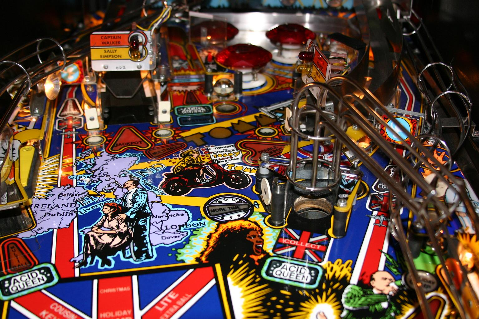 The Whos Tommy Pinball Wizard Pinball Machine
