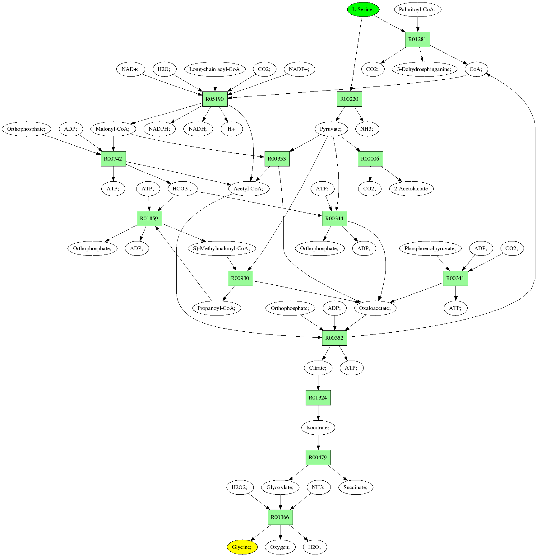 hight resolution of pathway diagram see pathway with molecule structures instead