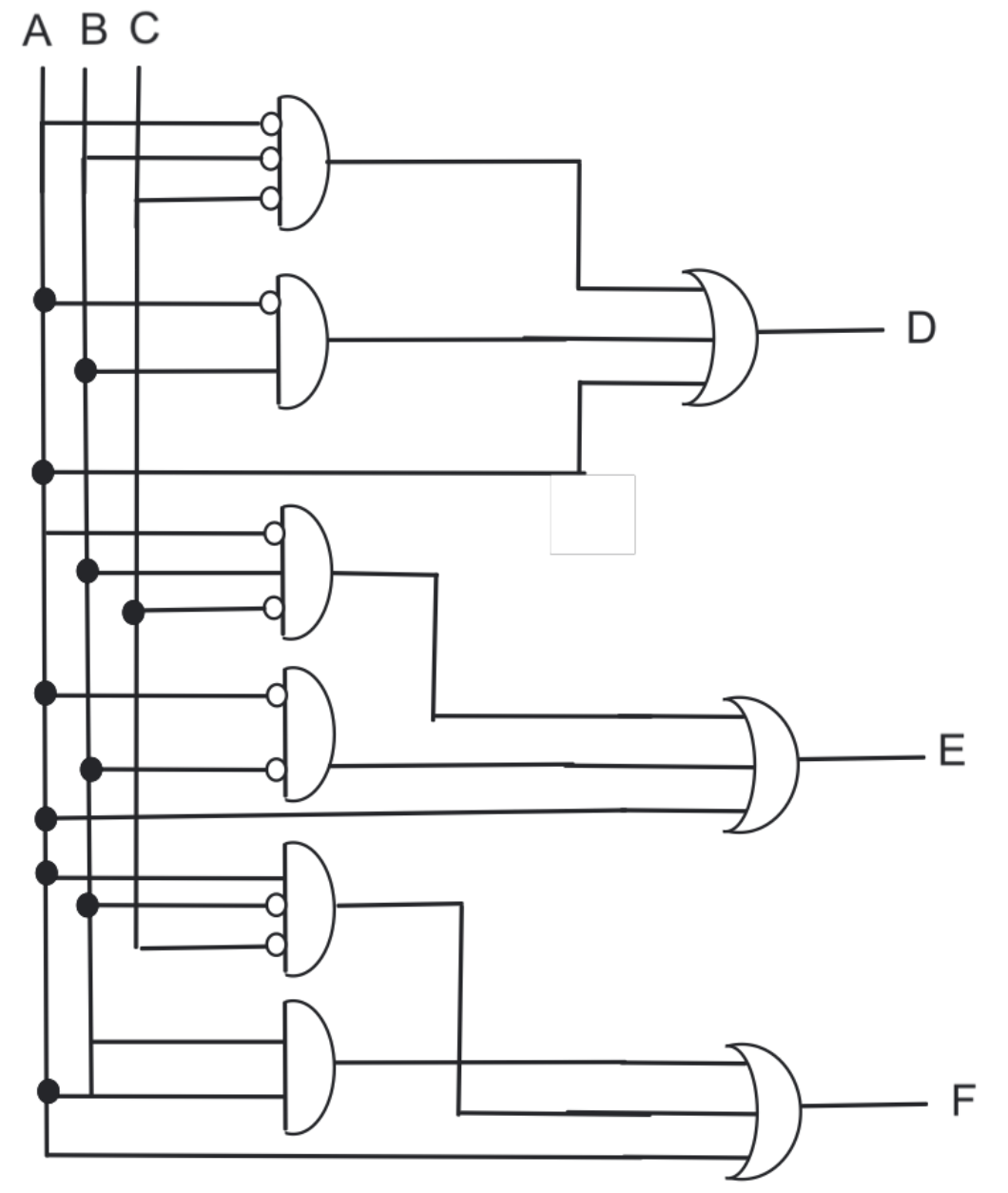 hight resolution of  complex circuit diagram