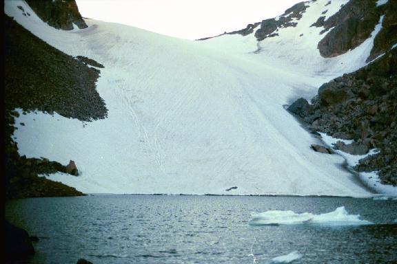 Andrews Glacier and Tarn