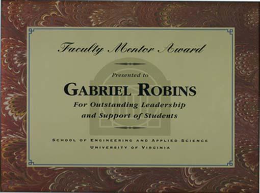 Dr Gabriel Robins Vitae