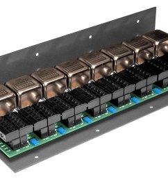 jensen transformers ms 8n3 8 channel 3 way microphone splitter [ 1201 x 676 Pixel ]