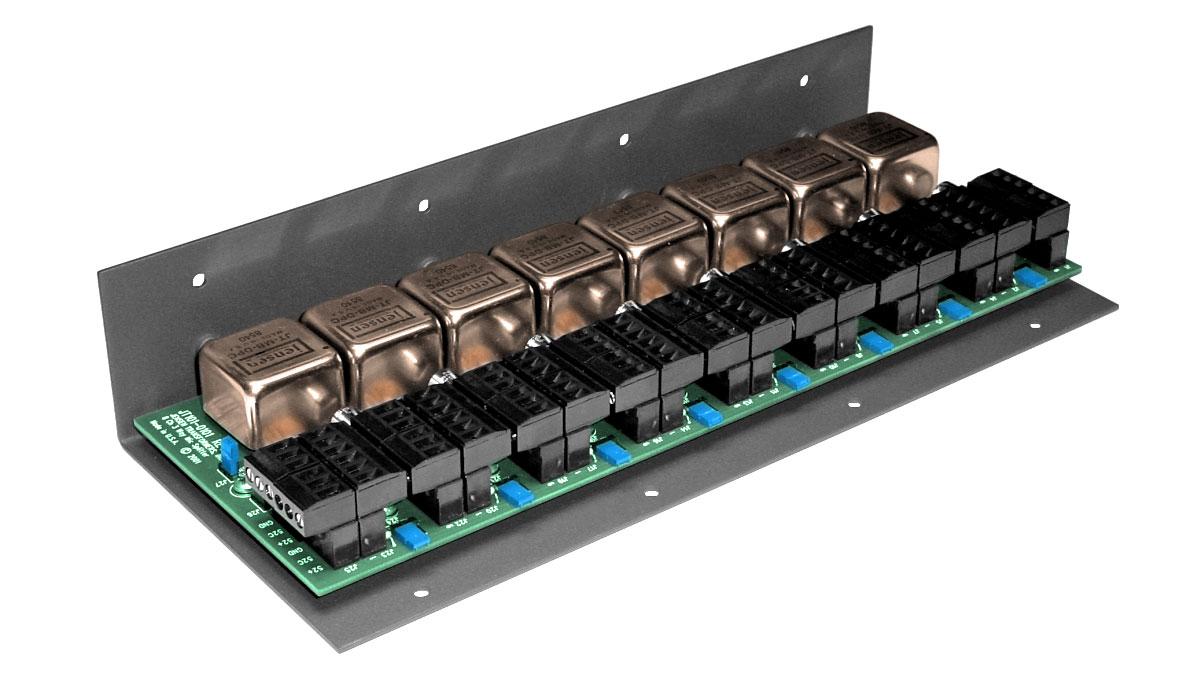 hight resolution of jensen transformers ms 8n3 8 channel 3 way microphone splitter