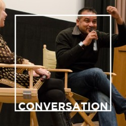 In conversation and Q&A with artists