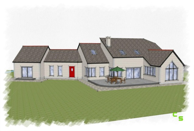 Sketch design for a new House