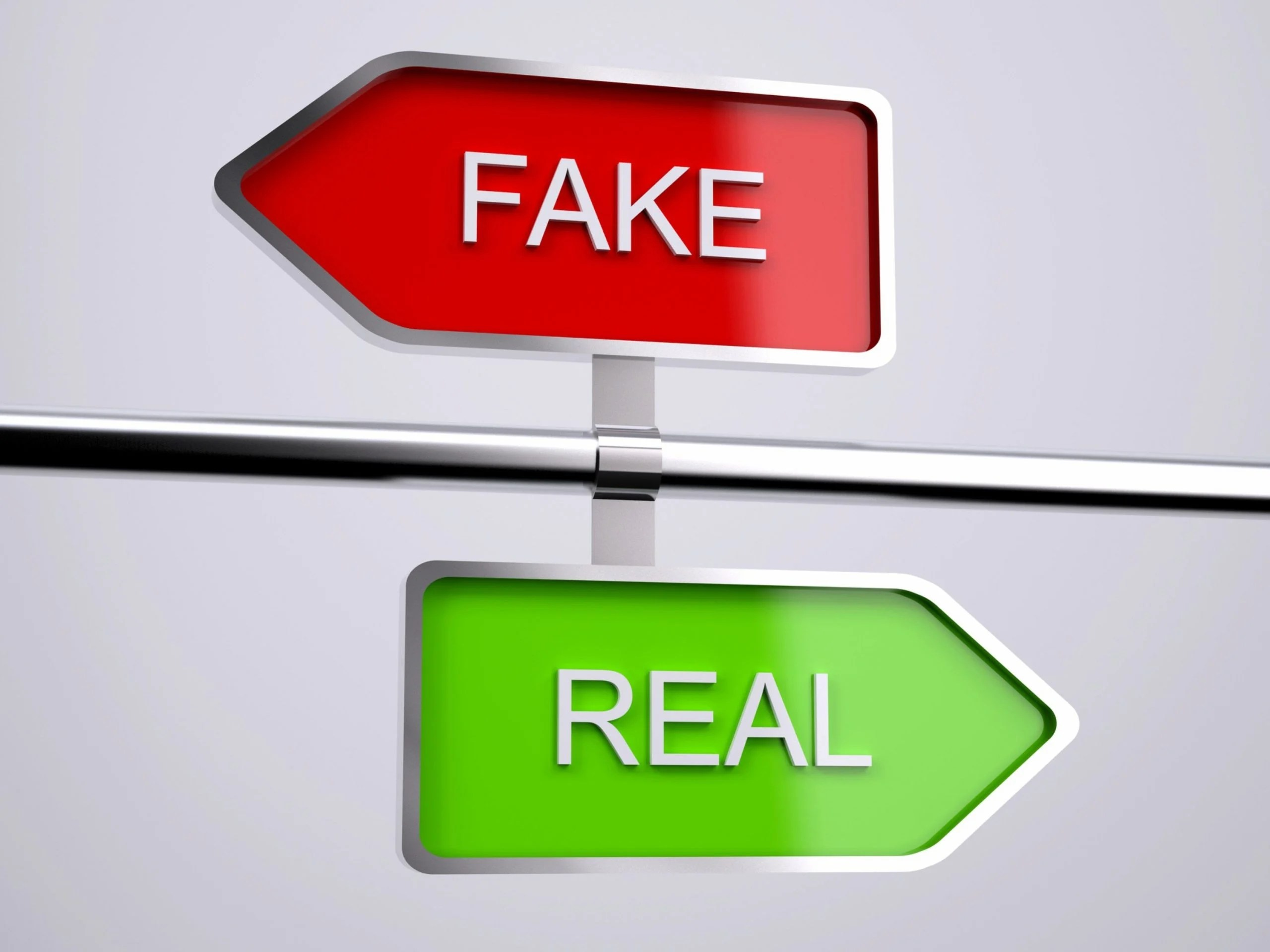 authentic customer relationships - fake vs real ID 86444609 © Fabio Berti