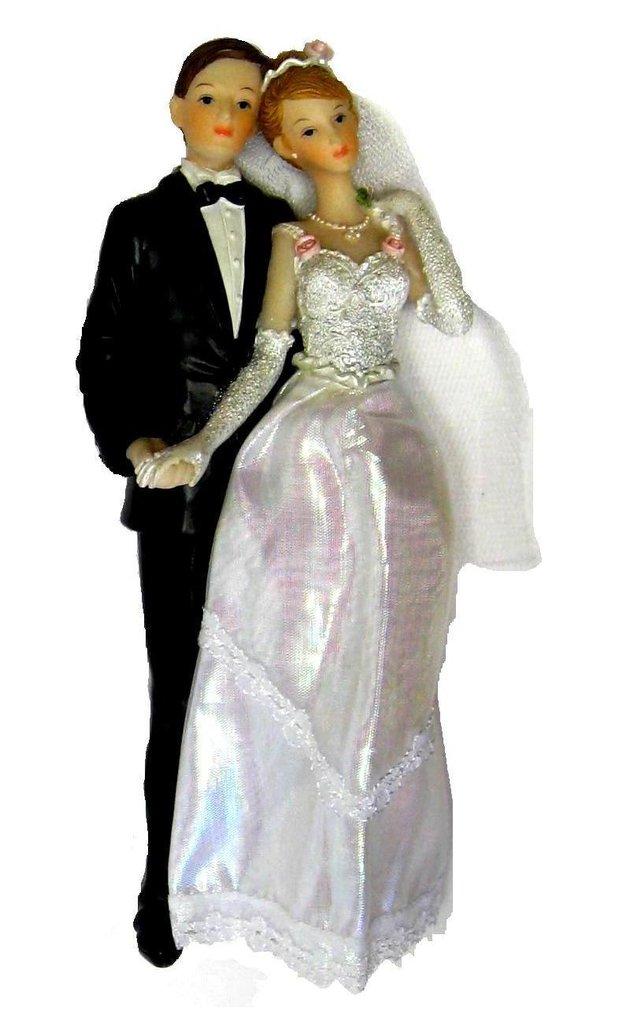 Brautpaar Figurenpaar Hochzeitspaar Hochzeit Ehepaar Hand
