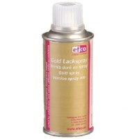 Hobby Lackspray Lack Spray Gold 150ml Dose, Styropor geeignet