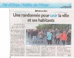 La rando Brétigny dans LE REPUBLICAIN