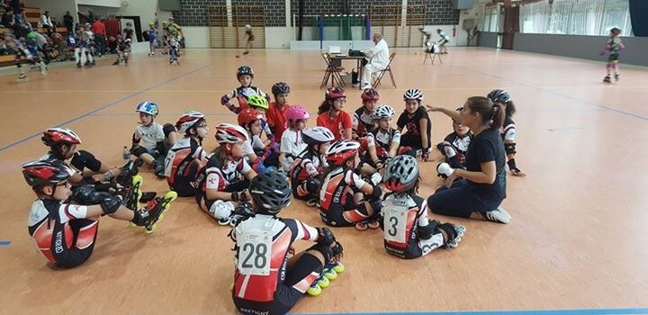 1er challenge indoor de la saison pour la junior team