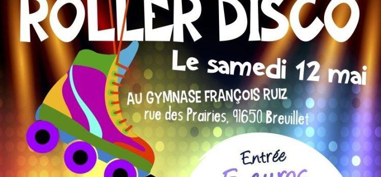 Soirée Roller Disco à Breuillet le 12 mai