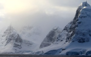 Mountains on the Antarctic Peninsula - Source: Jacques, Kelly. Mountains on the Antarctic Peninsula. Digital Image. National Science Foundation, April 7, 2010