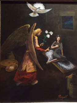 """The Annunciation,"" by Billy Meazell"