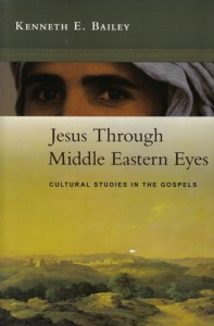 "Book jacket for ""Jesus Through Middle Eastern Eyes--Cultural Studies in the Gospels by Kenneth E. Bailey"