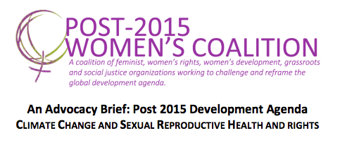 Post-2015 Women's Coalition-CC-SRHR