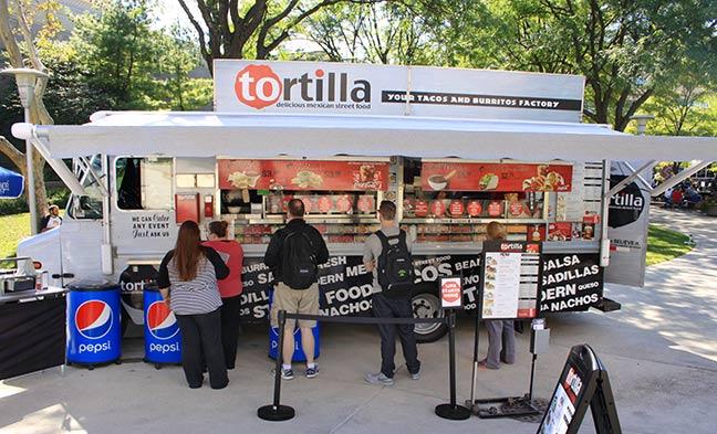 Tortilla Food Truck  Columbus State Community College
