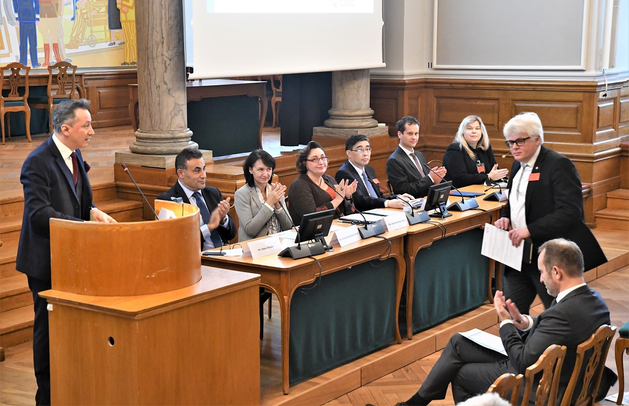CSCD's Grand Opening in the Danish Parliament, November 13th, 2019: The Belt and Road Initiative