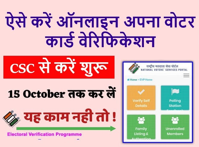 voter card verifcation