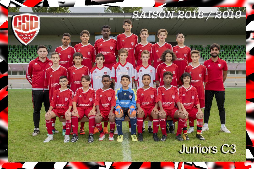 Juniors C3 - Club Sportif Chênois