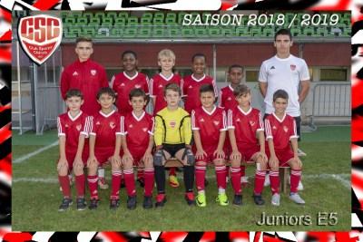 "<a href=""http://www.cschenois.ch/equipes/juniors-e5/"">Juniors E5</a>"
