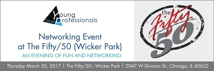Young Professionals Networking header