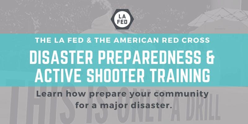 LA Fed Training flyer