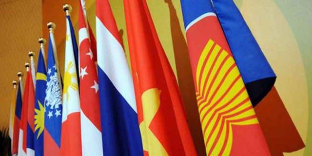 ASEAN flags - U.S. Relations with Southeast Asia