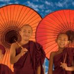 myanmar monk children