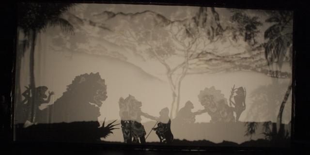 Subali Sugriwa Set - Talk: Designing the Stage: Balinese Wayang Listrik