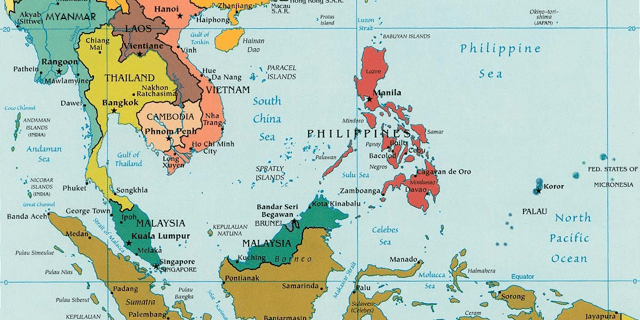 southeast asia map 640x320 - Graduate Certificate in SE Asian Studies