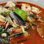 Thailand Tom yum goong Food - Thai/Vietnamese Cooking Class at KCC
