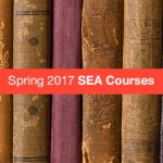 SP17 SEA Courses announce - Spring 2017 SEA Course List Now Available
