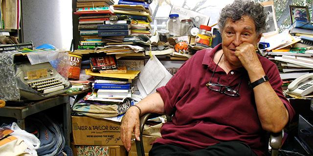 Photo of late Prof. Alice Dewey