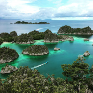 Bird's Head islands in West Papua