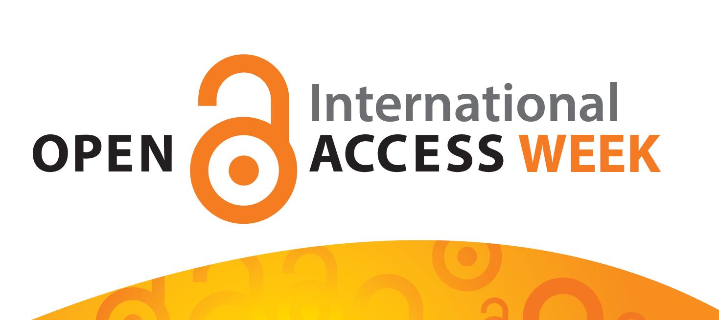 international open access week banner