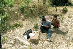 archaeology scene